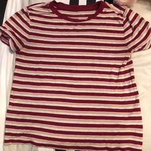 Aeropostale striped crop top